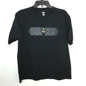 Bushmills ☘️ L Short Sleeve Shirt Black St. Pats